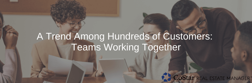A Trend Among Hundreds Of Customers: Teams Working Together