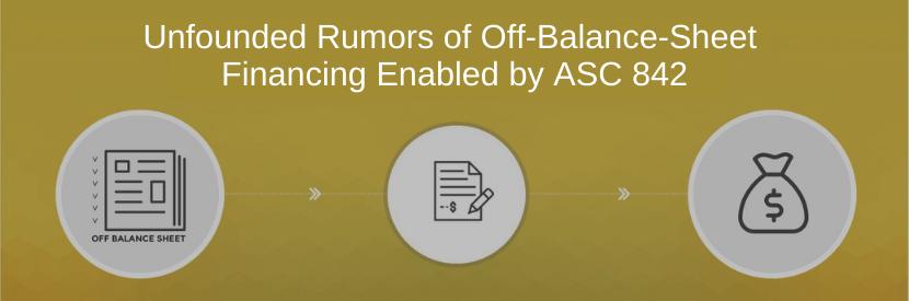 Unfounded Rumors Of Off-Balance-Sheet Financing Enabled By ASC 842